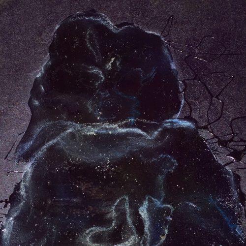 Jellyfish 02, 15x15cm, Acryl, Pastellkreide, 2015
