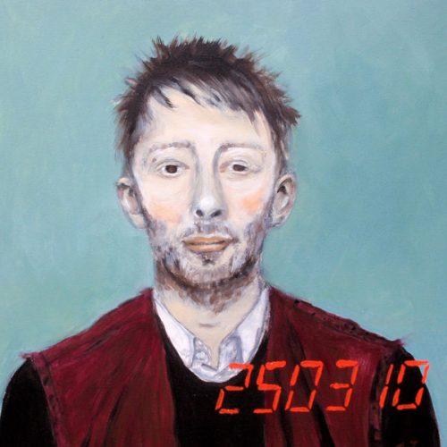 Thom Yorke, 50x50cm, Acryl auf Leinwand, 2010